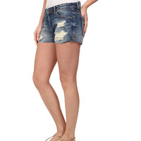 Blank NYC Denim Ripped Short in Keepin' It Real