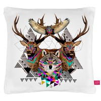 Street Market — Ohh Deer - Forest Friends Cushion By Kris Tate