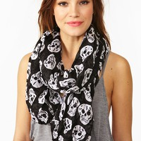 Skull Scarf