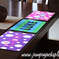 Personalized Washable Placemats!!