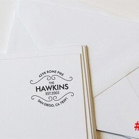 Personalized Return Address Stamps – 24 Designs!