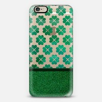 Lucky Shamrocks iPhone 6 case by Tracey Coon | Casetify