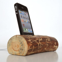 iPhone 5 dock (sync/charge, can serve as iPod / iPhone stand) - Custom Order