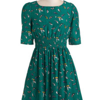 Life&#x27;s a Finch Dress | Mod Retro Vintage Dresses | ModCloth.com