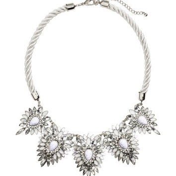 H&M Rhinestone Necklace $24.95