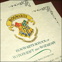 Harry Potter Hogwarts Acceptance Letter & Marauders Map