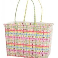 Unique Pastel Colorful Beach Bag Shopping Bag