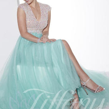 Tiffany Designs 16111 Tiffany Designs Prom Dresses, Evening Dresses and Homecoming Dresses | McHenry | Crystal Lake IL