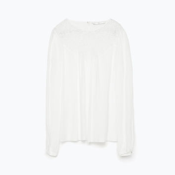 COMBINED LACE TOP New