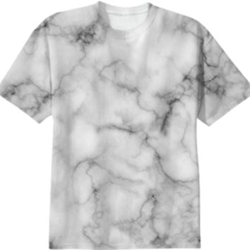 Marble Art White created by 83 Oranges | Print All Over Me