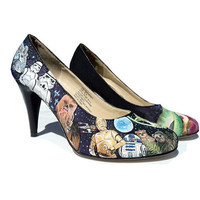 SHORT SALE  Custom Painted Heels  Star Wars by eastbaycalifornia