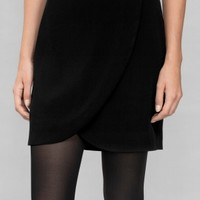 & Other Stories | Wrap Skirt | Black