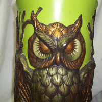 Vintage Owl Umbrella Stand by ssmith7157 on Etsy