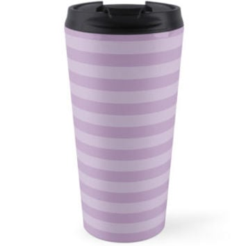 Stripes (Parallel Lines, Striped Pattern) - Purple