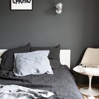 Linen duvet cover 240 x 220 cm - Anthracite — Bodie and Fou - Award-winning inspiring concept store