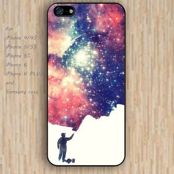 iPhone 6 case dream colorful Artificial Nebula iphone case,ipod case,samsung galaxy case available plastic rubber case waterproof B147