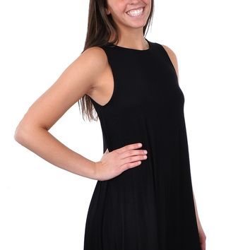 Market Shift Dress - Black