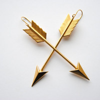 Arrow Earrings - Summer & Fall Fashion - Hunger Games Jewelry - Free Shipping in the US