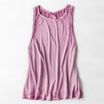 AEO SOFT & SEXY BRAIDED MUSCLE TANK