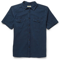 Levi's Made & Crafted - Dobby Cotton Short-Sleeved Shirt | MR PORTER