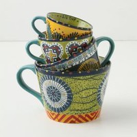 Austin&#x27;s Flora Measuring Cups - Anthropologie.com
