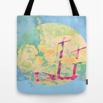 Sail in the Set Tote Bag by Ben Geiger