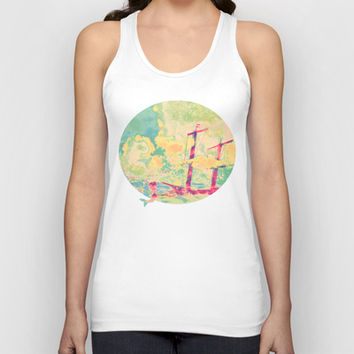 Sail in the Set Unisex Tank Top by Ben Geiger