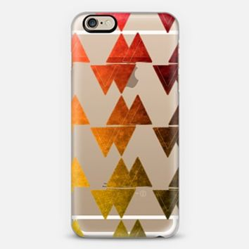 Triangles watercolor 2 iPhone 6 case by VanessaGF | Casetify