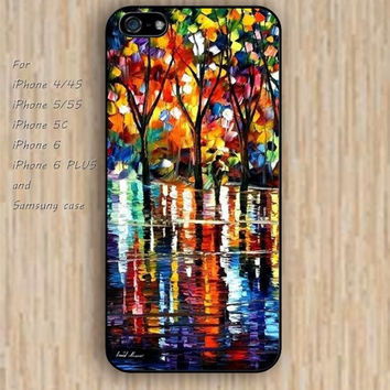 iPhone 6 case watercolor wood case loves iphone case,ipod case,samsung galaxy case available plastic rubber case waterproof B225
