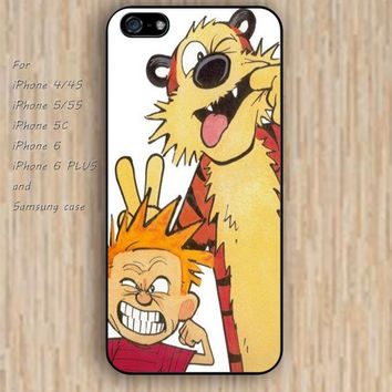 iPhone 5s 6 case colorful cartoons tiger iphone case,ipod case,samsung galaxy case available plastic rubber case waterproof B244