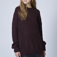 Ribbed Grunge Sweater