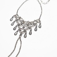 Free People Womens Cleopatra Anklet - Silver One