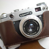 Rare USSR film camera Zorkiy year 1958 by RUussrvintage on Etsy