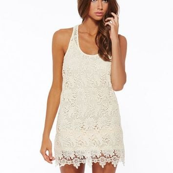 L*Space - Sylvie Lace Mini Dress