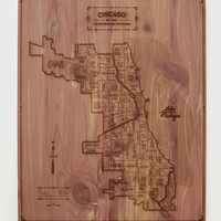 Chicago Wood Map