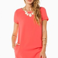 KELSEY SHIFT DRESS IN PINK