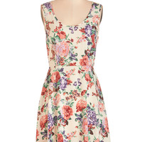 ModCloth Mid-length Sleeveless A-line Gosh Darn Adorable Dress