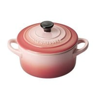 Le Creuset Stoneware Mini Cocottes Rose 0.25L - Free shipping over $100