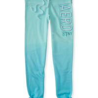 87NY Dip-Dye Classic Cinch Sweatpants
