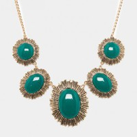 Melania Heirloom Necklace in Emerald - ShopSosie.com