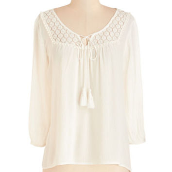 ModCloth Boho Mid-length 3 Where Are You Flowing? Top