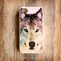 Wolf iPhone Case iPhone Case Accessories Cell Phone iPhone 4 Cover  Plastic iPhone Case