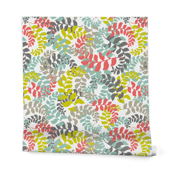 Heather Dutton Undertow Coral Wrapping Paper