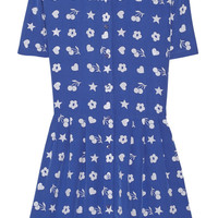 Equipment Naomi printed washed-silk mini dress – 60% at THE OUTNET.COM
