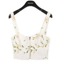 Dandelion Embroidered Bralet | FashionShopSTYLENANDA