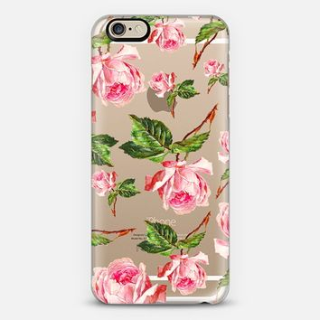 Pink Roses iPhone 6 case by Allyson Johnson | Casetify