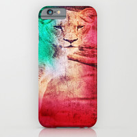 lioness iPhone & iPod Case by Haroulita