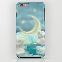 Guard Your Heart. Protect Your Dreams. (Beluga Dreams) iPhone & iPod Case by Soaring Anchor Designs