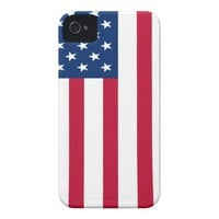U.S.A. Flag iPhone 4 Case from Zazzle.com
