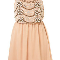 **Embellished Skater Dress by Coco's Fortune - Clothing